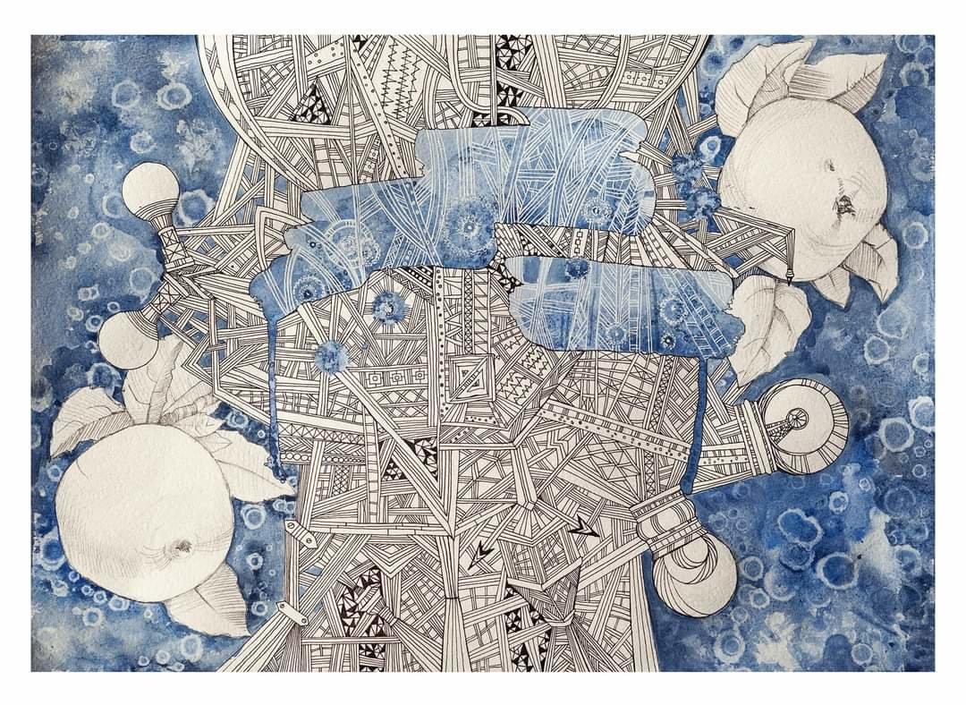 Картина николаевской художницы стала частью проекта #Иммунитет, - ФОТО, фото-2