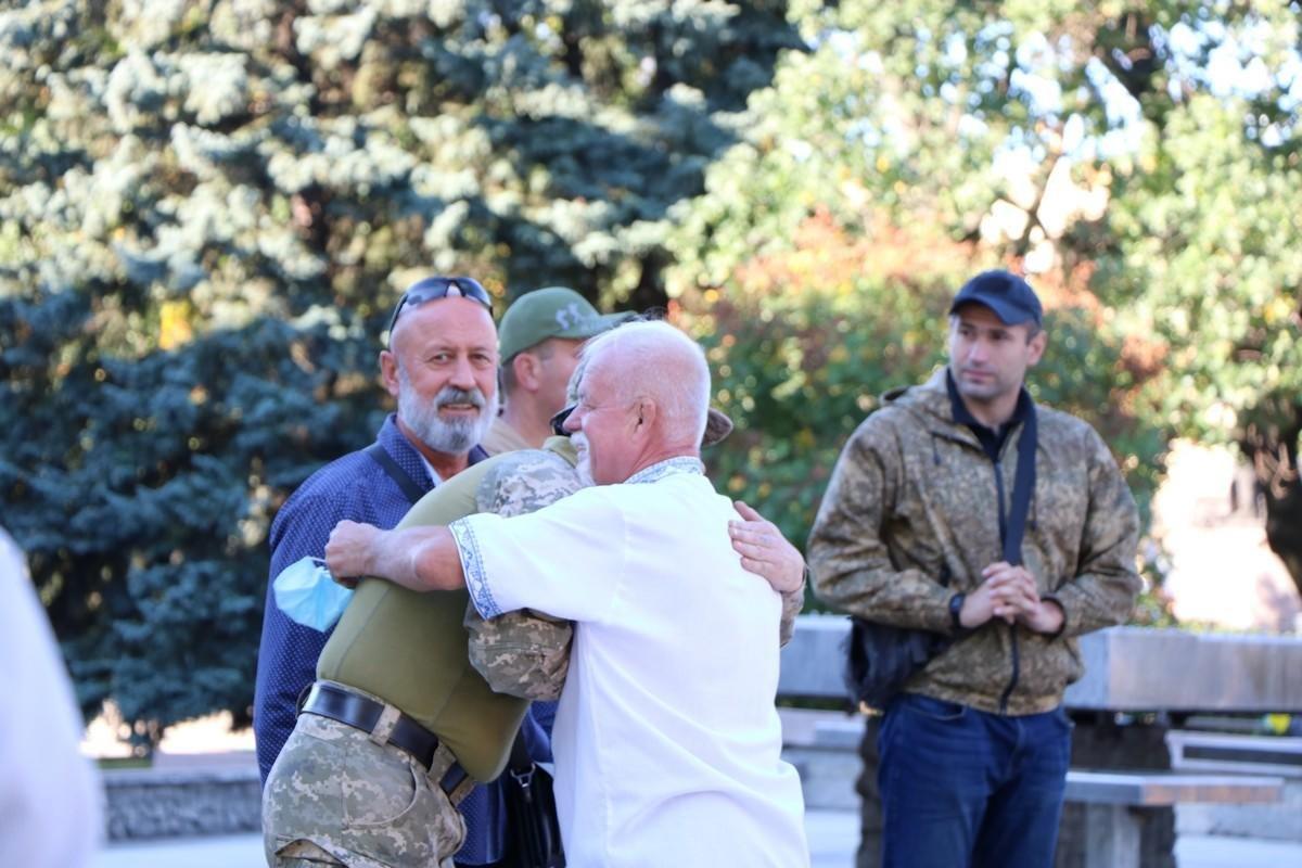 День защитника Украины в Николаеве, - ФОТО, фото-2