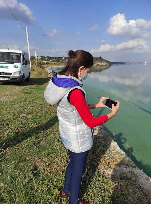 В Николаеве показали фото позеленевших Ингула и Южного Буга , фото-2