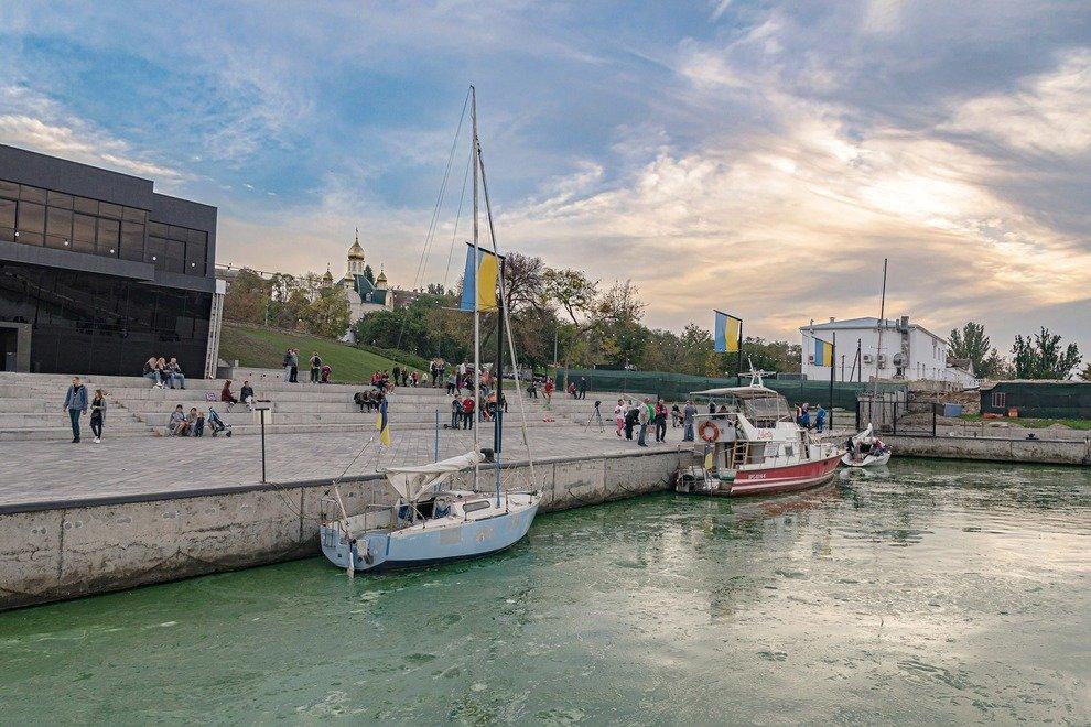 В Николаеве показали фото позеленевших Ингула и Южного Буга , фото-3