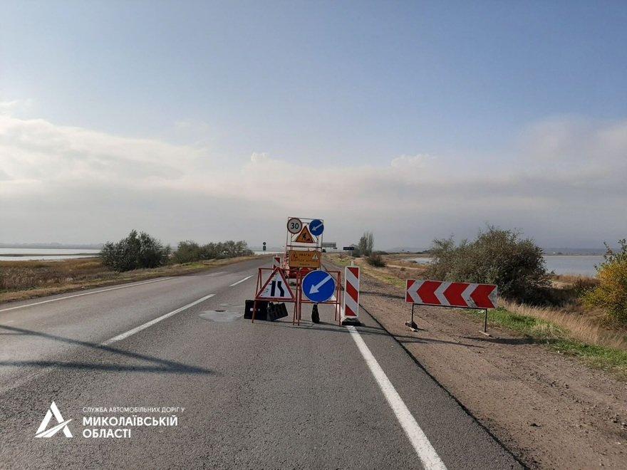 В Николаевской САД рассказали чем покрывают трассу М-14, чтобы она была прочной,- ФОТО , фото-1