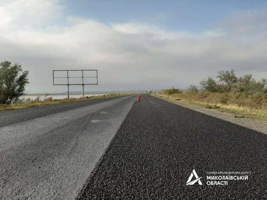 В Николаевской САД рассказали чем покрывают трассу М-14, чтобы она была прочной,- ФОТО , фото-2