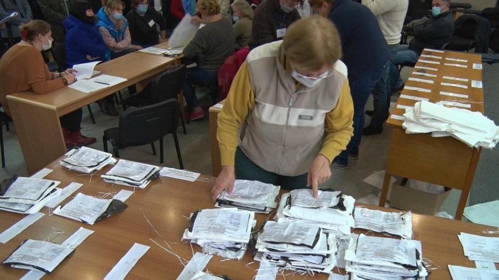 В Николаеве продолжается подсчет голосов