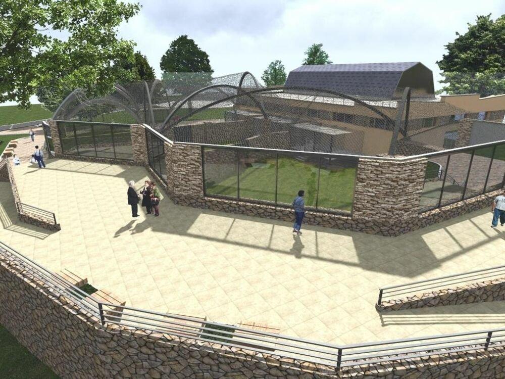 В Николаевском зоопарку начнут строительство летних вольеров