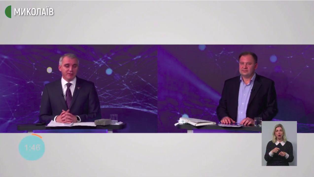 Дебаты кандидатов на пост мэра Николаева: основные моменты,  -ВИДЕО, фото-1