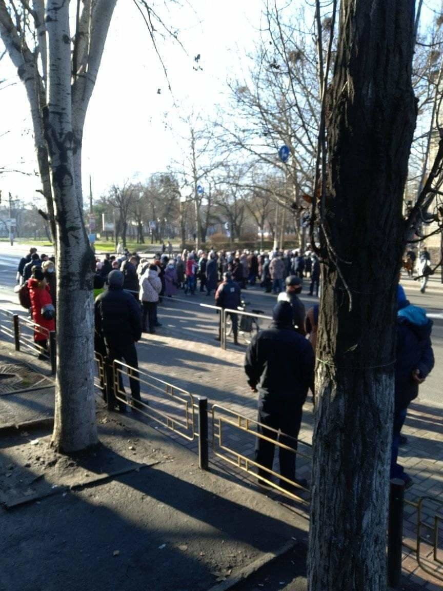 В Николаеве митингующие против повышения тарифов перекрыли Ингульский мост, - ФОТО, фото-6