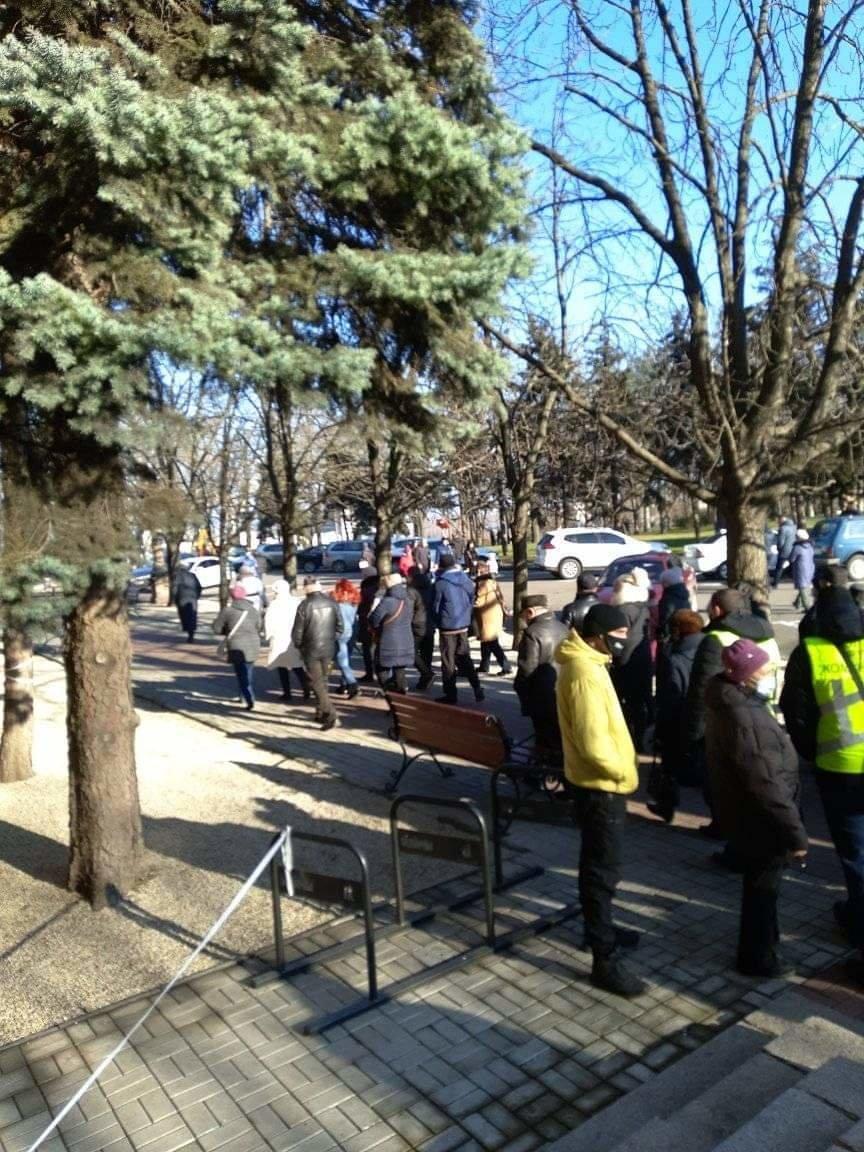 В Николаеве митингующие против повышения тарифов перекрыли Ингульский мост, - ФОТО, фото-2