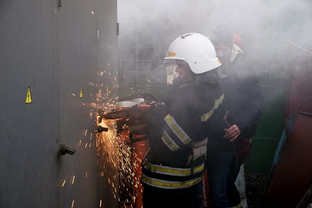 В Николаеве случался пожар на территории рынка, - ФОТО, фото-4