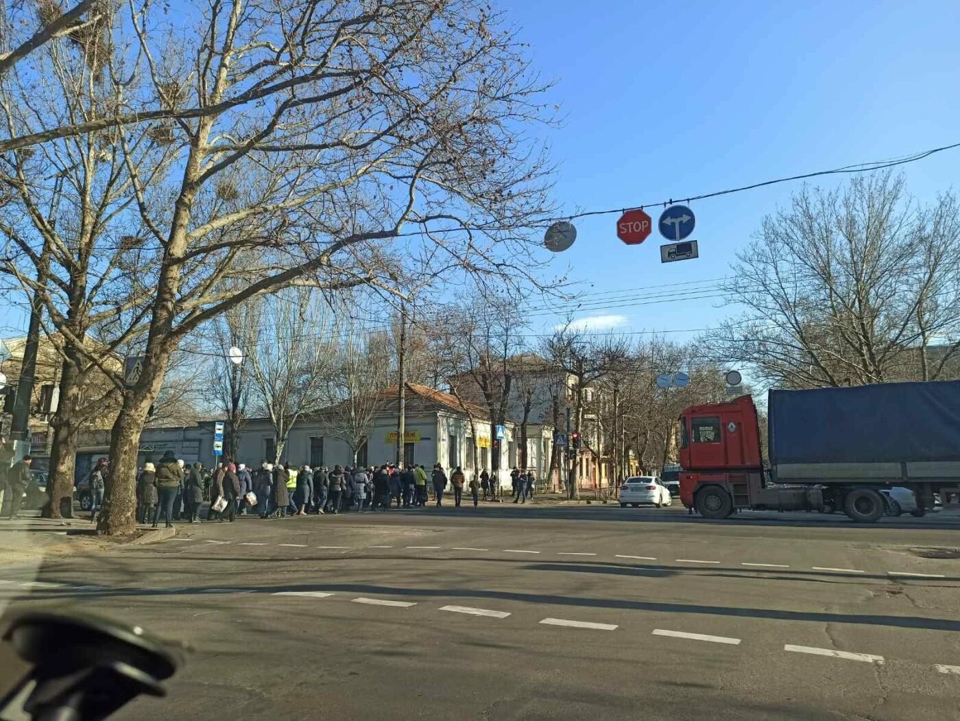 В Николаеве митингующие против повышения тарифов перекрыли Ингульский мост, - ФОТО, фото-4