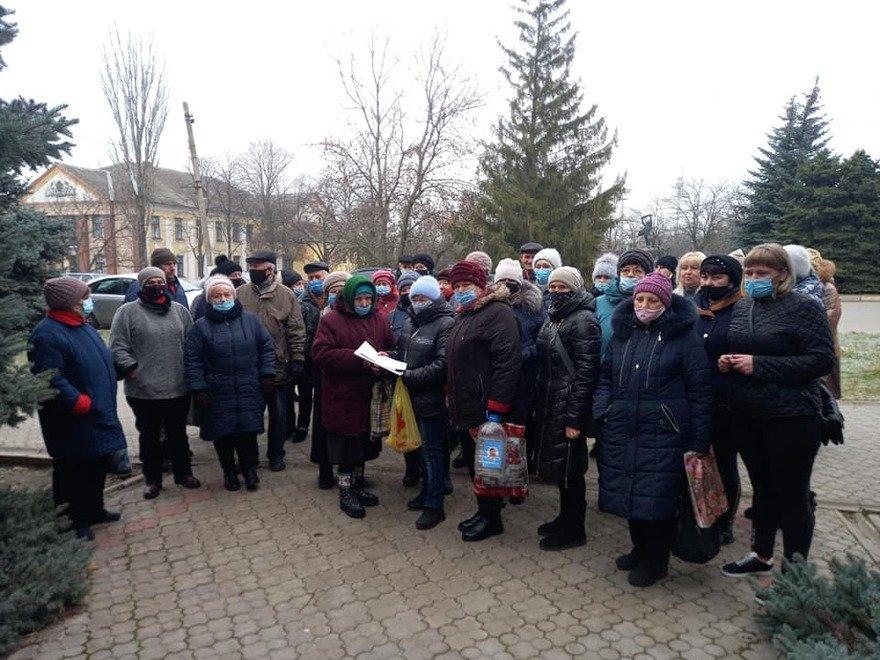 В Снигиревке  протестовали против повышения тарифов