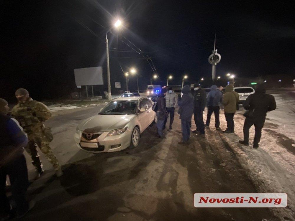 В Николаеве СБУ задержала вымогателей