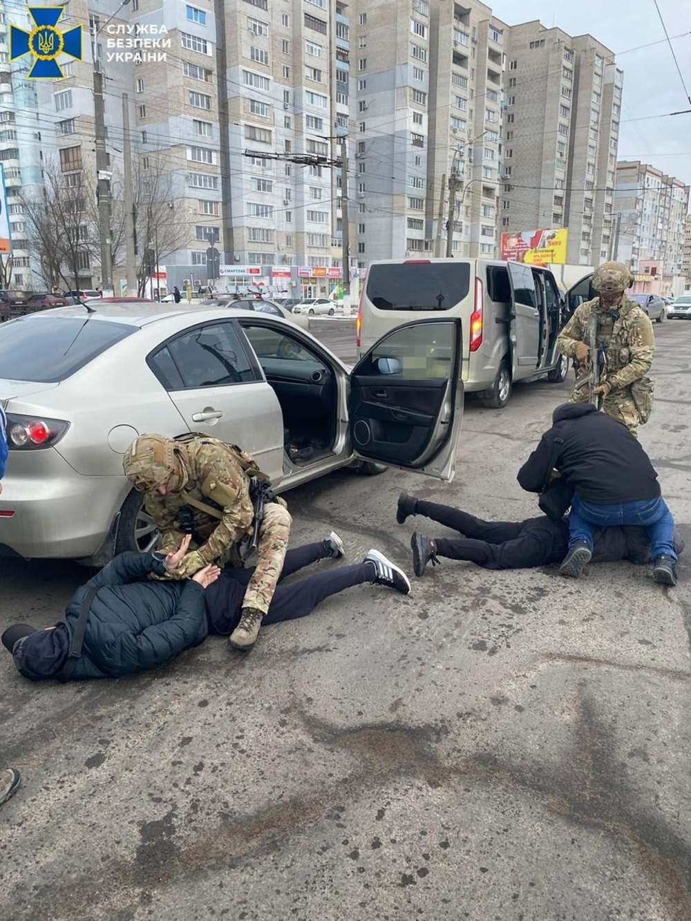 СБУ в Николаеве задержала группировку вымогателей, Задержание группировки вымогателей
