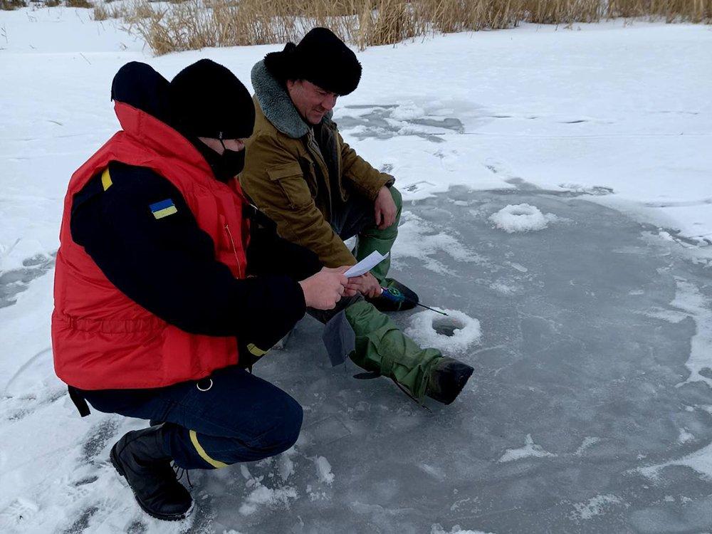 Рейд по безопасности на льду, Спасатели провели профилактический рейд