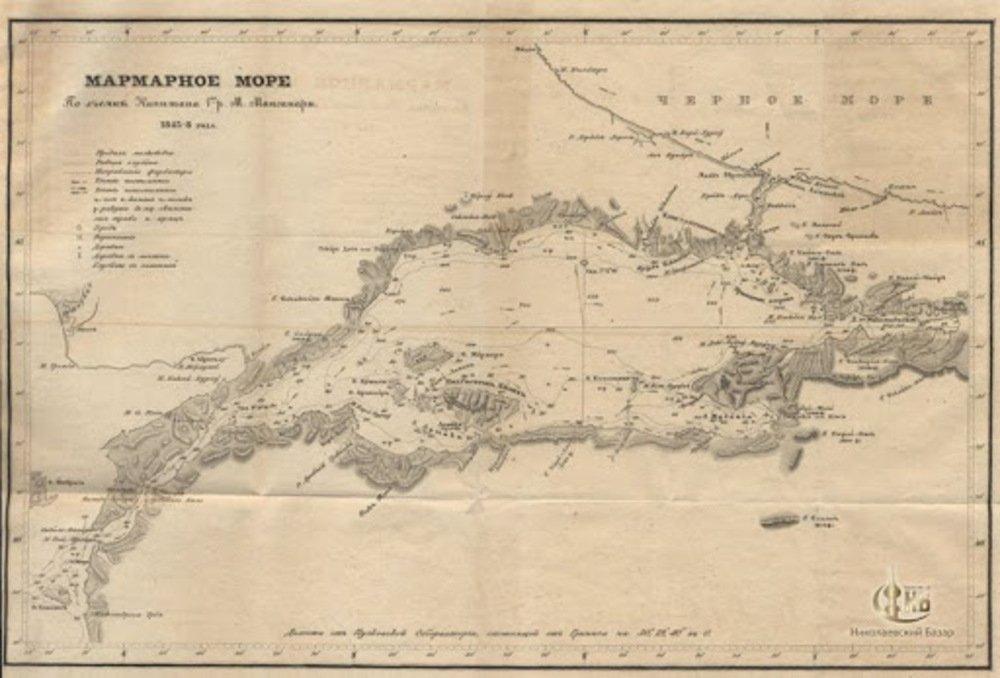Карта созданная Манганари