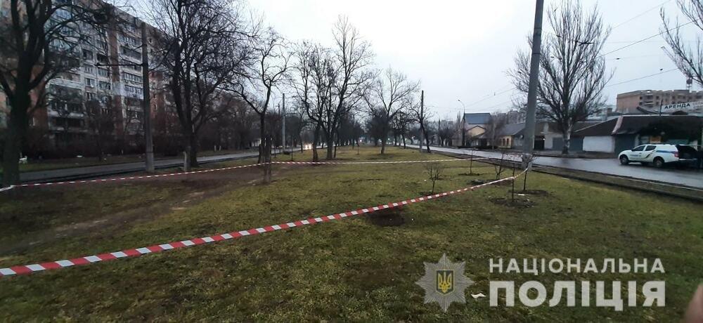 Взрыв гранаты в Николаеве