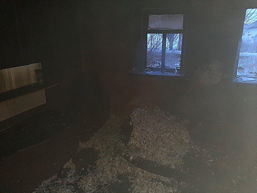 На Николаевщине во время пожара погибло два человека