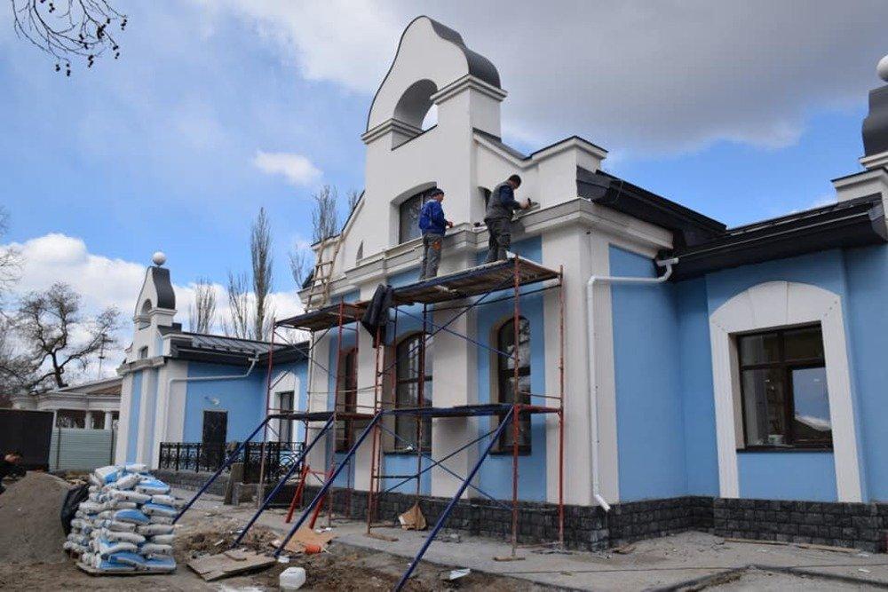 Ремонт Николаевского шахматного клуба
