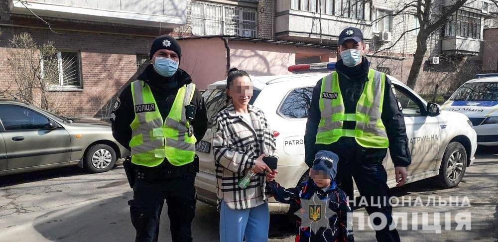 Полицейские разыскали ребенка