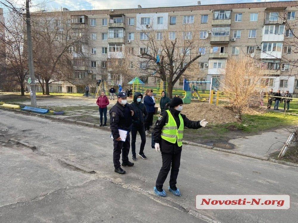 Полицейская спец-операция в Николаеве