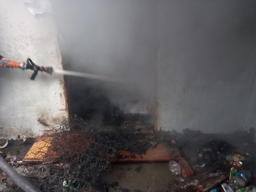 Пожар на Николаевщине