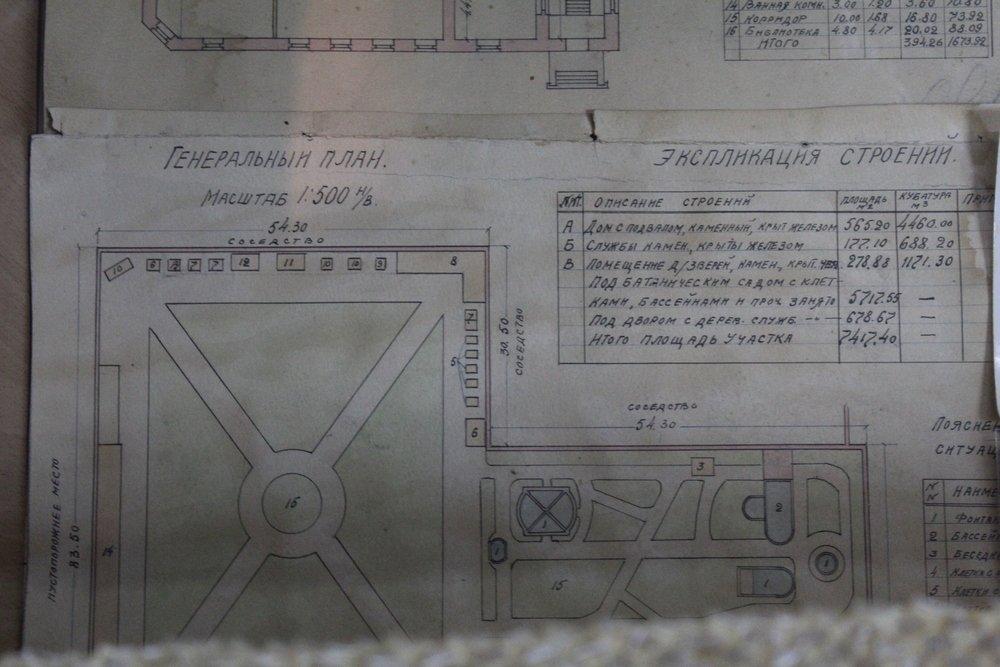 План дома Леонтовича