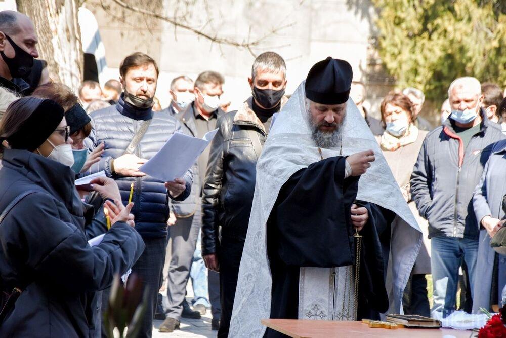 В Николаеве простились с Владимиром Михайловым