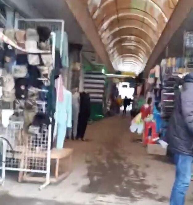 В Николаеве, не взирая на карантин, продолжает работать рынок