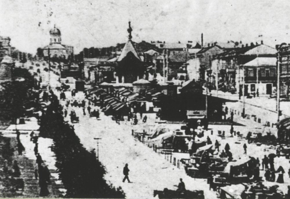 Вид на Симеоновскую церковь