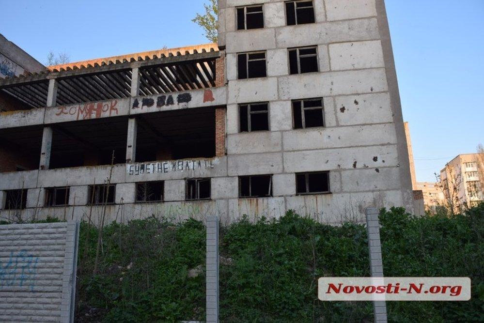 В Николаеве на заброшенной стройке нашли труп девушки