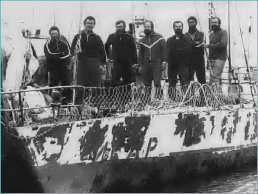 Состав экипажа