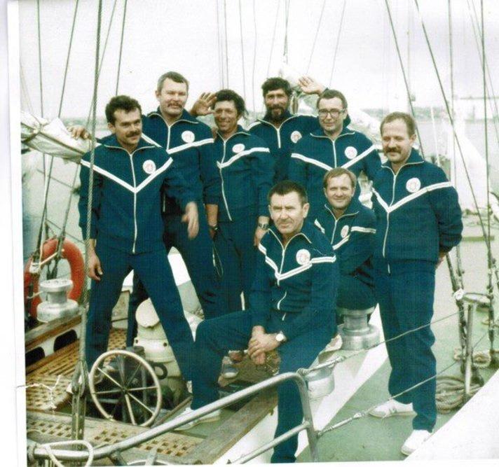 Встреча экипажа Николаев