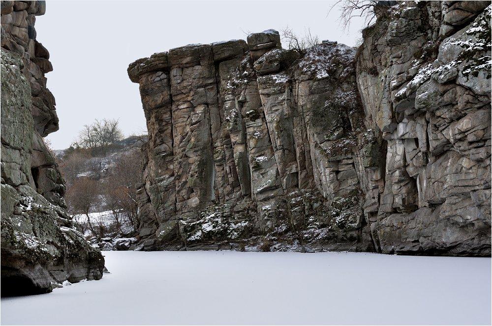 Актовский каньон зимой