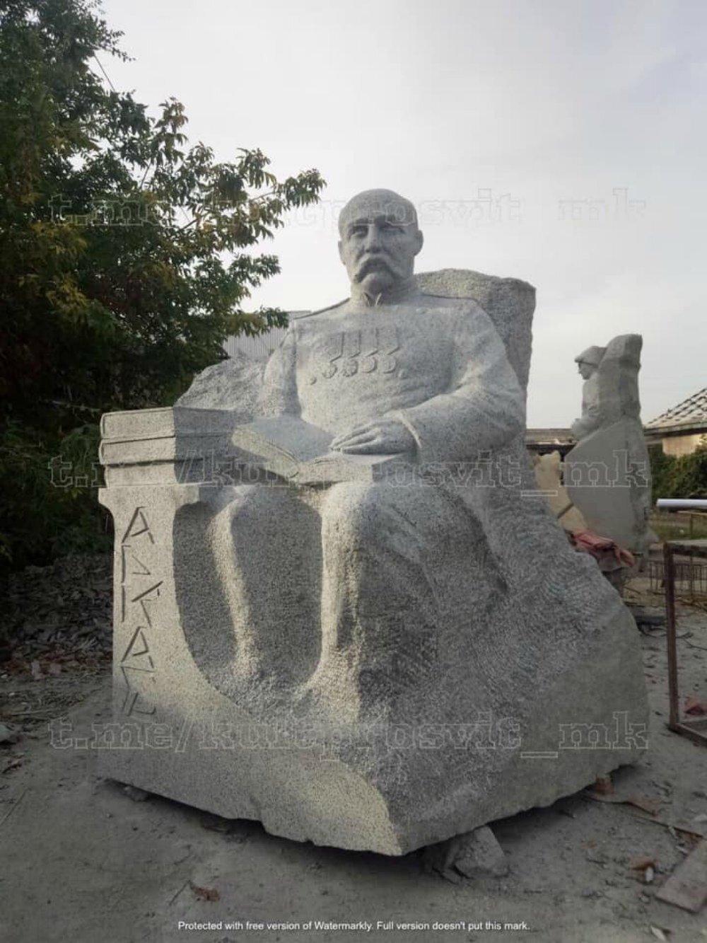 Памятник Н. Н. Аркасу
