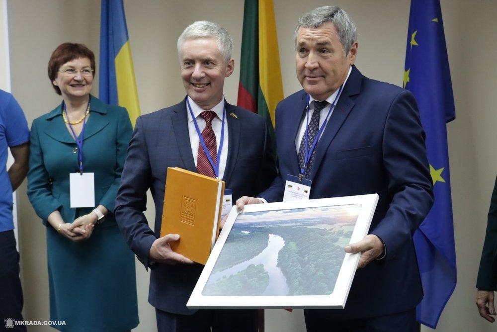 Открытие Литовского Консульства