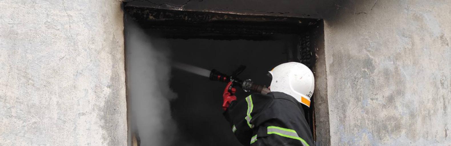 На Николаевщине во время пожара умер мужчина,- ФОТО